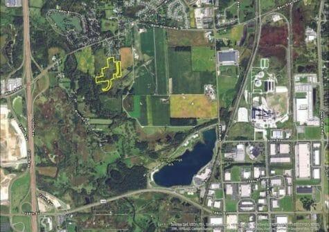25.71 Acres-Land Development, 106th Avenue, Pleasant Prairie, WI